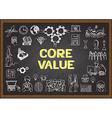 core value vector image