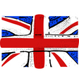 english flag vector image vector image