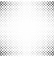 monochrome repeating halftone diagonal ellipse vector image vector image