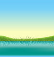 spring lake banner vector image vector image