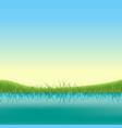 spring lake banner vector image vector image