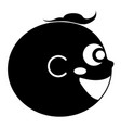 happy baby avatar vector image