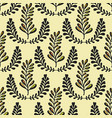 ethnic seamless pattern with ornamental stylized vector image vector image