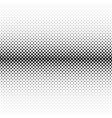 monochrome halftone diagonal ellipse pattern vector image vector image