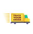 online delivery service concept order vector image