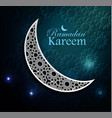ramadan greetings vector image