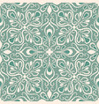 seamless lace pattern on blue background vector image vector image