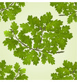 Seamless texture branch of oak with acorns