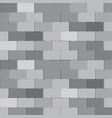 brick wall stone in grey color background vector image