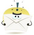 angry email icon vector image vector image