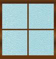 bathroom window vector image vector image