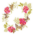 butterfly design for clothing embroidery insect vector image