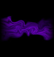 dark purple abstract fluid flow gradient with vector image vector image