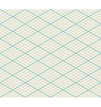 Isometric Seamless Grid Background - Thirty Degree vector image vector image