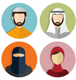 Middle Eastern Muslim avatar People Icons
