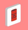 oil barrel computer symbol vector image vector image