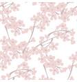 spring blossom vintage seamless pattern vector image vector image