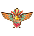 Totem pole shaped of an owl vector image vector image
