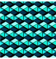 Abstract repetition geometric navy blue squares vector image vector image