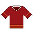 american football shirt vector image vector image