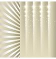 beige stars vector image