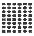 Blank frames for label vector image