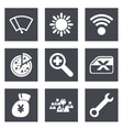 color icons for web design set 46 vector image vector image