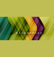 colorful glossy arrows abstract background vector image vector image