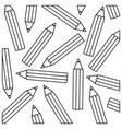 contour pencil color icon stock vector image vector image