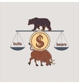 Finance forex Labels Logo vector image