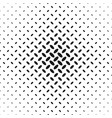 monochrome halftone ellipse pattern background vector image vector image