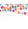 Party celebration background vector image vector image
