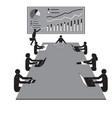 teamwork workshop meeting office workers teams vector image