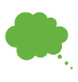 thinking cloud icon vector image vector image