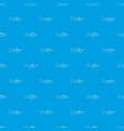 trumpet pattern seamless blue vector image vector image