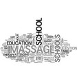 what should you look for in a massage therapy vector image vector image