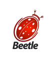 beetle logo concept design symbol graphic vector image