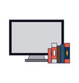 business and office elements vector image vector image