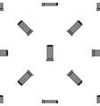 column pattern seamless black vector image