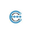 Creative logo technology wires spherical logo