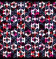 geometric seamless repeat pattern vector image vector image