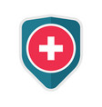 medical healthcare protection icon concept vector image vector image