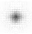 monochrome abstract halftone diagonal ellipse vector image vector image