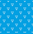 retro bikini pattern seamless blue vector image vector image