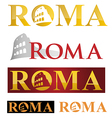 rome icon symbol isolate on white background vector image