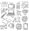 sketch communication images vector image vector image