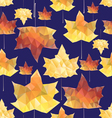texture of autumn leaves vector image vector image