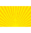 yellow pixel background vector image
