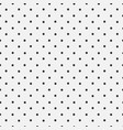 dotted seamless pattern vector image