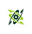 farm technology logo design template vector image vector image